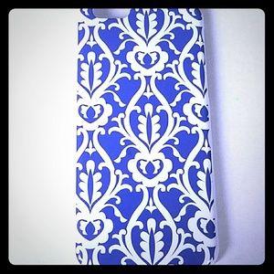 iphone 6 case blue and white pretty filigree